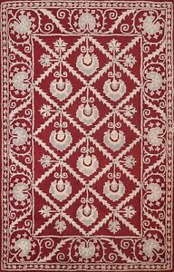 Traditional Geometric Assorted Oriental Area Rug Hand-tufted Classic Carpet 6x8