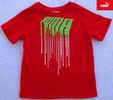 NWT Puma Boys Red T-Shirt with Design(Size 2T) NEW