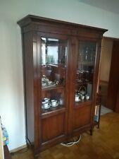 Selva Vitrine mit Beleuchtung Wohnzimmer Möbel italienisch Kirschbaum NP 2519€