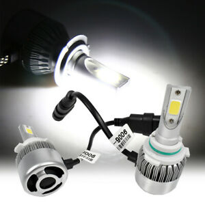 Low Beam 9006 HB4 LED COB 36W 6000K White High power Headlight Light Bulbs HN