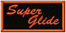 SUPER GLIDE BIKER PATCH