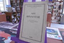 Saint Bonaventure - Par R.P. Valentin & M.Breton - Catholicisme - 480 pages