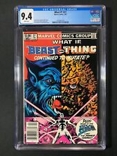 What If? #37 CGC 9.4 (1983) - Newsstand Edition - Beast,Thing & Silver Surfer