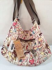 LeSportsac Disney's TINKer Bell by Marc Davis Heather Hobo Handbag Purse NWT