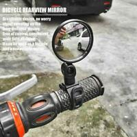 1PC Rotate Bicycle Cycling Bike Back Rear View Handlebar Safety Rearview Mirror