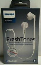 Philips SHB5250 FreshTones MyJam In Ear Wireless Bluetooth Headset White