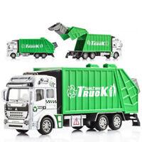 Garbage Truck Sanitation Car Children Toys Kids Engineering Vehicle Trash Model