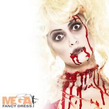 Zombie Make-Up Halloween Mens Ladies Fancy Dress Costume Horror Makeup Facepaint