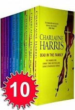 True Blood Sookie Stackhouse Series 10 Book Set By Charlaine Harris Collection