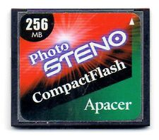 256MB Apacer Photo STENO CompactFlash CF Memory Card