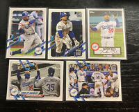 Mookie Betts Lot(5) 2021 Topps Los Angeles Dodgers