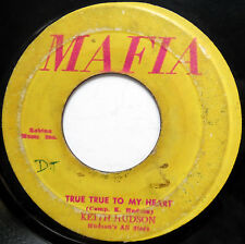 KEITH HUDSON 45 True True To My Heart / Ace Ninety Skank ROOTS Reggae ORIG c1724