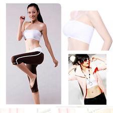HOT SALE Women Ladies Strapless Boob Tube Top Sports Yoga Bandeau Bra Crop Vest