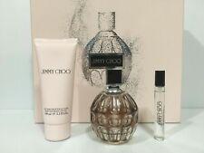 Jimmy Choo 3 Pcs Set For Women 3.3 fl.oz + 0.25 oz  Eau De Parfum + 3.3.oz B/L