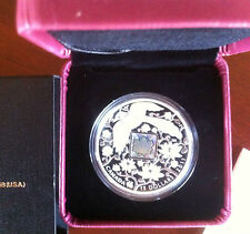 PROOF SILVER COIN~CANADIAN~MAPLE OF HAPPINESS~CHINA/MAGPIE*WEDDING/VALENTINE*