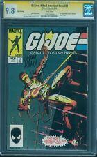 G.I.Joe 21 CGC SS 9.8 Larry Hama Signed 1st Storm Shadow White 3rd Print Rare