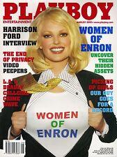 US-Playboy August/08/2002   Reneé & Rosie Tenison, CHRISTINA SANTIAGO