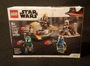 LEGO Mandalorian BATTLE PACK Warriors 75267 Speeder Bike STAR WARS Complete NEW!