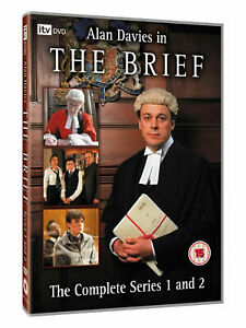 The Brief : The Complete Collection (3 Disc DVD Set) Series 1 & 2 Alan Davies