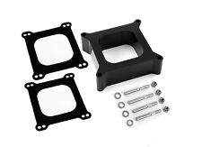 """Holley Edelbrock phenolic open Carb spacer 2"""" thick heat riser"""