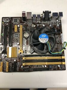 USED Asus B85M-E/CSM Motherboard w/ Intel i5-4440 CPU and 4G Ram