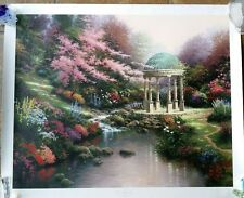 "Thomas Kinkade  ""Pools of Serenity"" #2408/4850 print on paper with authenticity"