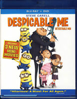 Despicable Me (Blu-ray/DVD, 2010, 3-Disc Set, )