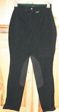 Platinum JPC Equestrian Breeches, Country Shapely 24R Black NEW Nice Breeches