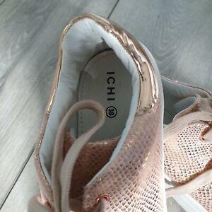 Ichi A Vanda FW Sneakers Rose Dust