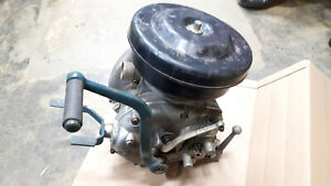 Ural 650 cc gearbox with reverse and airbox.