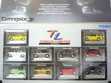 TOMY TOMICA LIMITED Commemoration BEST SELCTION 10 MODELS MINI CARS SET Rare NEW