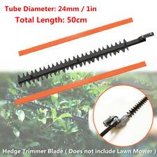 1x Garden Hedge Trimmer Cutter Lawn Mower Blade Teeth Hedge Brush Tool 24mm Tube