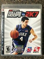 2K Sports NCAA College Hoops 2K7 PS3 (PlayStation 3 PS3) Complete w/ Manual