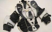 Used Reebok Larceny Pro Stock Hockey Goalie Chest Protector Size XL! Flyers