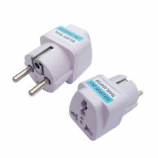 Universal AU US UK to EU Europe Power Plug Travel Home Charger Adapter Converter
