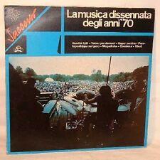 Vari LA MUSICA DISSENNATA DEGLI ANNI '70 - Cramps LP NM