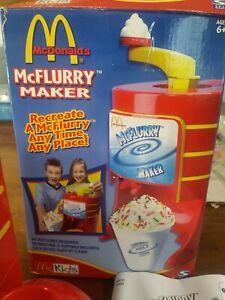 McDonalds Mcflurry Maker McKids 2003 Kids Play Kitchen Toy, Vintage Read