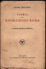 Storia della rivoluzione russa. Leone Trotskij
