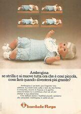 X1400 Ambrogina - Bambole Furga - Pubblicità del 1975 - Vintage advertising