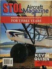 Stol Aircraft Magazine Fourth Quarter 2016 Backcountry Pilots FREE SHIPPING sb