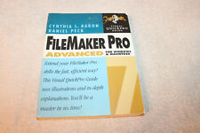 FileMaker Pro 7 Advanced for Windows and Macintosh by Daniel Peck SIGNED PB