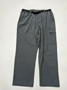 PEGASUS Men's Water Resistant Stretch Walking Trousers with Belt - SIZE W38 L29
