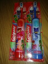 PACK OF 2 Colgate PJ Masks Powered Childrens Soft Toothbrush Oral Care