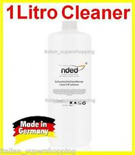 CLEANER 1 litro RICOSTRUZIONE UNGHIE SMALTO GEL SGRASSANTE NDED MADE IN GERMANY!