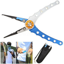 Aluminum 7.9'' Fish Plier Fishing Pliers Tackle Tool Hook Remover Line Tool New