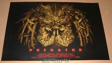 ElvisDead Predator Movie Poster Print Art GET TO THE CHOPPA Schwarzenegger
