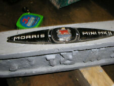 Morris Mini Mk2 badge. Classic car.  Rare.
