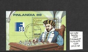 Guinea Bissau 1988 Finlandia min sheet used