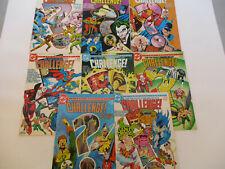 DC Challenge comic book lot 1 6 7 8 9 10 11 12 Superman Batman Superhero 1985