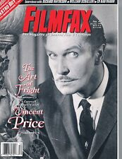 Filmfax #42 Farewell Interview Vincent Price Astro Boy Amicus Matheson  1994
